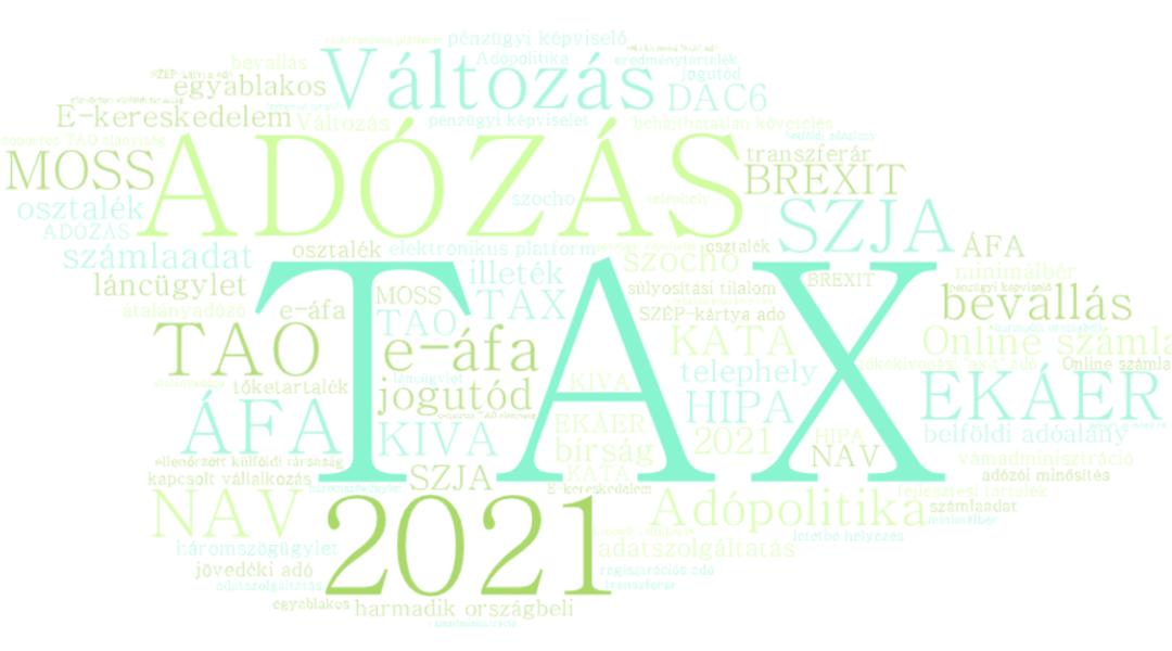 Elfogadásra került a 2021-es adócsomag